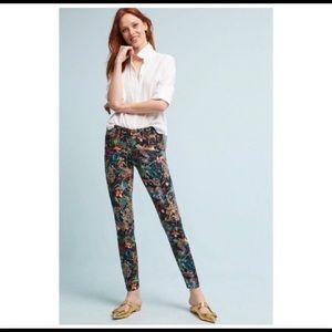 Pilcro & The Letterpress Floral Printed Pants